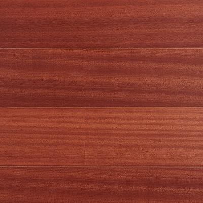 地暖环保高端WF01102沙比利多层实木地板