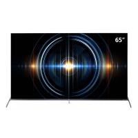 TCL 65C66黑 65英寸 4K超高清电视机 全生态HDR 圆角全面屏 全场景AI