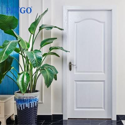 室内简欧风格复合烤漆平开门式卧室房门优质五金把手