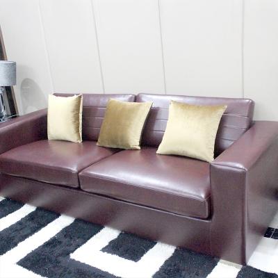 时尚经典客厅皮艺沙发客厅奢华整装家具组合承重力稳固性强