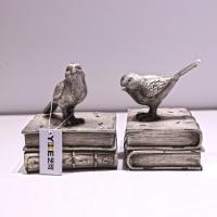 简约艺术麻雀树脂书房办公室书档书房复古装饰品创意摆件