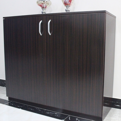 现代简约鞋柜 实木双门鞋柜柜对开门现代时尚客厅家具