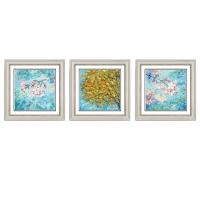 北欧客厅装饰画沙发背景墙壁画GD077系列星钻画简欧风景抽象挂画