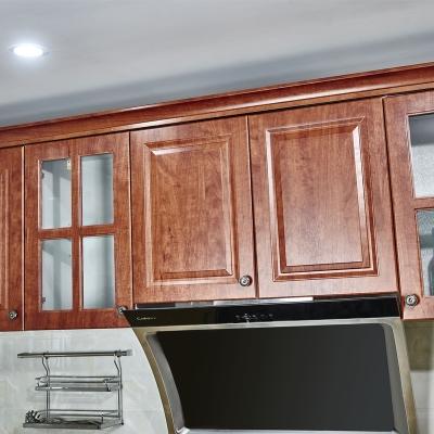 厨房储物收纳怀古典雅风格吸塑造型橱柜吊柜
