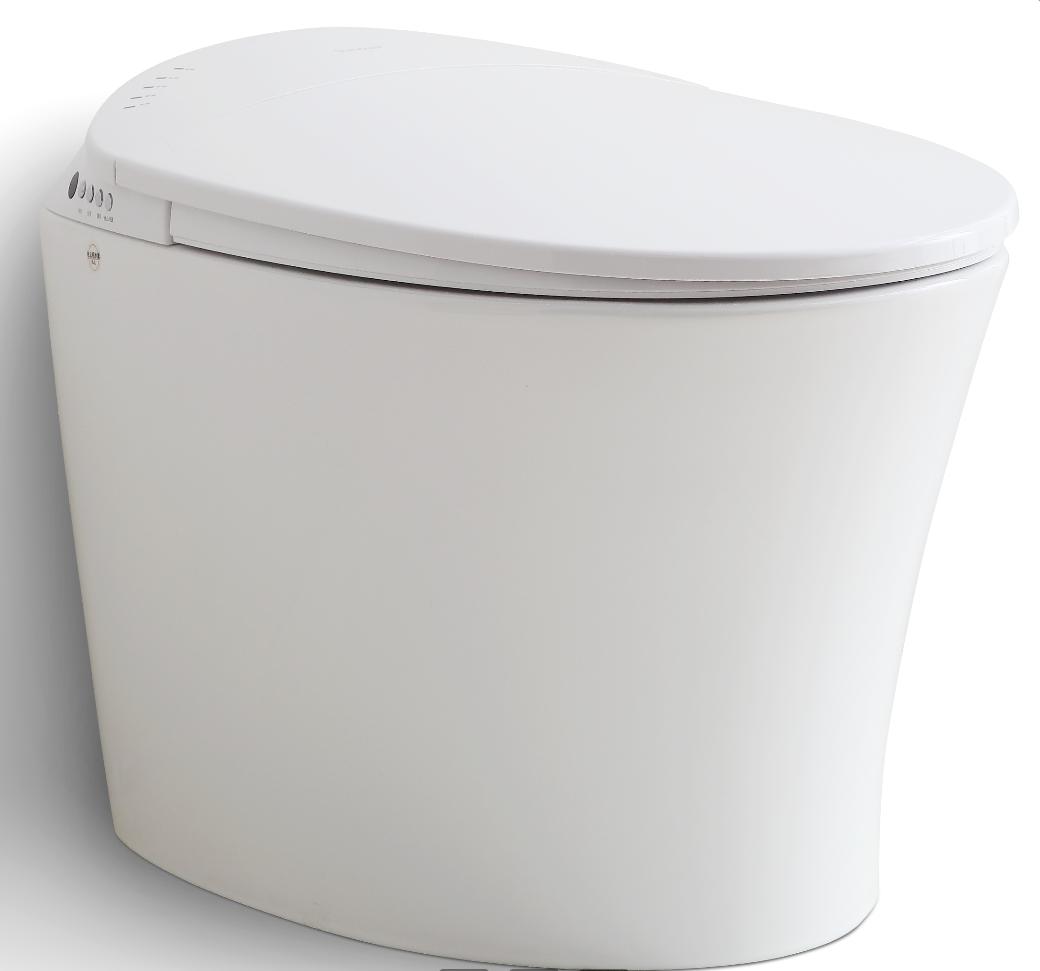 智能馬桶家用即熱烘干自動翻蓋坐便器