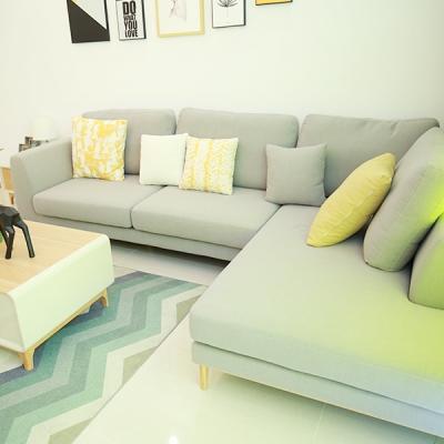 布艺沙发北欧小户型多人客厅沙发组合沙发简约现代整装家具